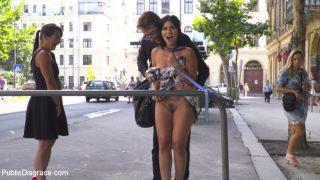 Nervous Newbie Naomi Gets.. Publicdisgrace.com – gonzoporn.cc
